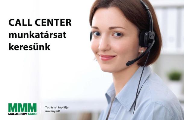 Callcenter munkatársat keresünk